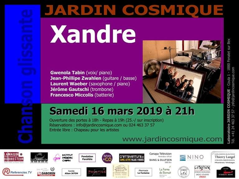 Xandre @Jardin Cosmique