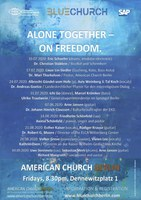 Alone Together - On Freedom. Nine nights in Berlin, 10 July - 4 September.