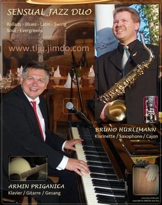Bruno Hürlimann SENSUAL Jazz Duo