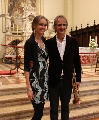 Tara Bouman und Markus Stockhausen MOVING SOUNDS